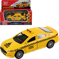 Ford Mondeo Russian Taxi Diecast Model Car Scale 1:36
