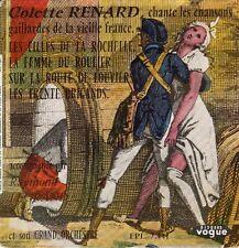 45 T EP  COLETTE RENARD *CHANSONS GAILLARDES DE LA VIEILLE FRANCE*