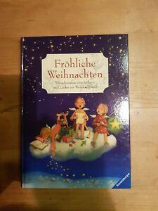 Fröhliche Weihnachten Ravensburger Geschichten- und Liederbuch, gebunden wie neu