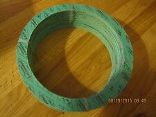 "5 NEW THERMOSEAL KLINGERSIL C-4401 GASKET RING  PIPE SIZE 8"" THICK 1/16"""