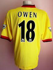 Liverpool 1997 - 1999 Away football Reebok shirt #18 OWEN