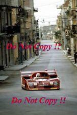 Clay Regazzoni AUTODELTA ALFA ROMEO T33/TT/12 Targa Florio 1973 photographie