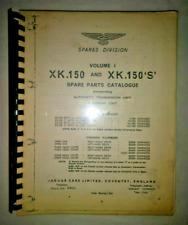 1966 Jaguar XK 150 and XK 150 'S' (Spare Parts) Catalogue Volume 1