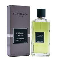 Vetiver Extreme by Guerlain 3.3 oz / 3.4 oz EDT Cologne for Men New In Box