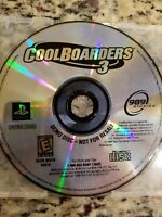 Cool Boarders 3 PS1 Sony Playstation 1 DISC ONLY FREE SHIPPING