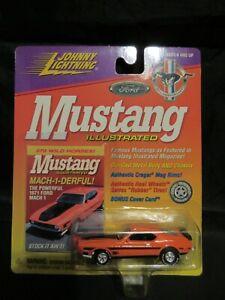 2000 Johnny Lightning White Lightning 1971 Mustang Mach 1