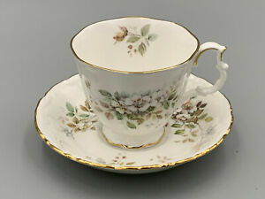 Royal Albert Haworth - Tea Cup and Saucer.Made in England.