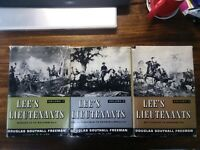 Lee's Lieutenants complete 3 vol. set - Douglas Southall Freeman HC DJ