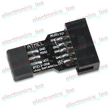 10pcs AVRISP USBASP STK500 10PIN to 6PIN Standard Adapter Block