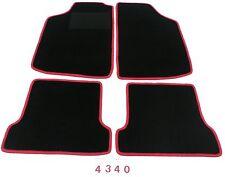 Automatten Fußmatten Teppich Velours 4-teilig VW Golf 1 2 3 + Cabrio 1 u. 3
