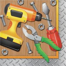 Handyman 16 Luncheon Napkins Carpenter Tools Birthday Party