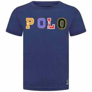 POLO RALPH LAUREN KIDS Boys Girls Crew Neck Short Sleeves Logo T-Shirt Top NEW