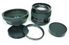 Carl Zeiss sonnar 2,8/85 t * lente para Contax/Yashica + l39 UV + g-11