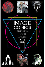 IMAGE EXPO PREVIEW BOOK 2016.FIRST SEVEN TO ETERNITY APPEARANCE.IMAGE COMICS.NM