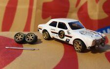 Gold 1/64 TE37 Rubber Wheels 6 Spoke Real Riders Hot Wheels Matchbox Volkswagen