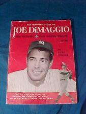 1950 NY YANKEES The THRILLING STORY of JOE DiMAGGIO BOOK w 100 photos