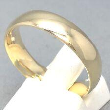"STUNNING 9CT YELLOW GOLD PLAIN ""WEDDING BAND"" DRESS RING SIZE ""X½""   1810"