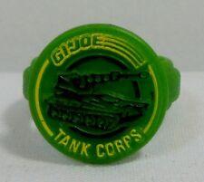 GI JOE COBRA VTG COMMAND RING TANK CORPS SGT. SLAUGHTER MARAUDERS LYNX