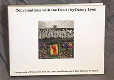 DANNY LYON signed HC book CONVERSATIONS WITH THE DEAD edition 2015 facsimile