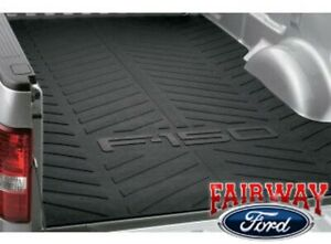 04 thru 14 F-150 OEM Genuine Ford Parts Heavy Duty Rubber Bed Mat 6.5 Foot Bed
