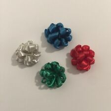 Vintage Dollhouse Miniatures 1:12 Scale Gift Bows For Christmas Packages