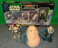 Star Wars Jabba The Hutt + 3D Palace Display Diorama + Announcer (Fobe + Beed)