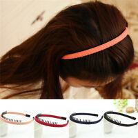 Women Hair Bands Hair Hoop Headband with Teeth Girls Hair  Hairband Well S&K