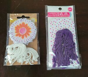 Recollections Craft It Flora, 20 pcs, Personalize It Polka Dots Tags 24 pc