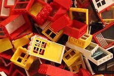 Lego Fenster Türen 15 Stück Konvolut kg Kiloware Sammlung Basic Hausbau Haus