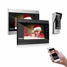 TMEZON 7 Inch Wireless Wifi Smart IP Video Door Phone Intercom System Doorbel