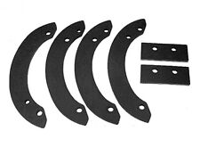 REPLACEMENT RUBBER PADDLES REPLACES HONDA 06720-V10-030