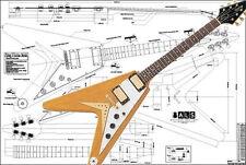 Gibson Flying V Korina® Electric Guitar Plan
