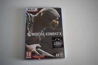jeu pc dvd mortal kombat x inclut CORO neuf sous blister