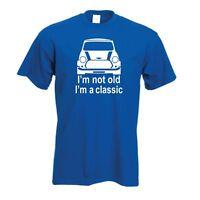 Classic Mini T-Shirt   Retro Mini Unisex TShirt Car enthusiasts Gift FREE UK P&P