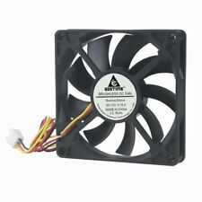 10 Pcs 3pin 12V 8cm 80mm 80x80x15mm Brushless PC CPU Computer Case Cooling Fan