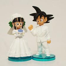 Dragon Ball, Figures Goku & Chichi Wedding / Boda. PVC. Anime. Manga