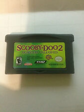 NINTENDO GAME BOY ADVANCE SCOOBY-DOO 2  GAME FREE POSTAGE (A77)