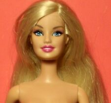 Vintage 1999 Blonde Barbie Doll Nude Mattel
