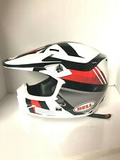 Bell L MX9 MIPS Motorcross Helmet Gloss White Black Red Marauder PS100059