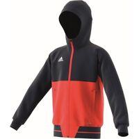 Adidas Boys Kids Tiro Sweatshirt Hoodie Tracksuit Top Zip Jacket Hooded Jumper