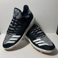 Adidas F36439 Icon 4 Boost Primeknit Gum Bottom Baseball Cleats Men's Size 9