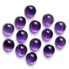 Lot of 6mm Round Cabochon Natural African Amethyst Loose Calibrated Gemstone
