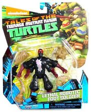 Nickelodeon Tales of Teenage Mutant Ninja Turtles Lethal Robotic Foot Soldier!