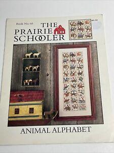 Prairie Schooler Animal Alphabet  Cross Stitch Pattern