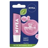 Nivea Lip Balm Soft Rose Blister 4.8g Lippen