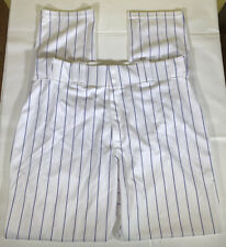 Majestic MLB Authentic Collection Baseball Pants White / Blue Pinstripe Size 38