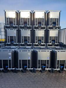 IBC CONTAINER TANK REGENWASSERTANK 600 Liter NEU Unbenutzt