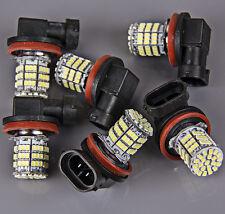 6x Super Bright H11 White 85-SMD LED Daytime Fog Day Driving Running Light Lamp