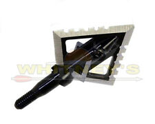 Magnus Archery Black Hornet Ser-Razor Broadheads 100 Grain BHSR100-4 - Pack of 3