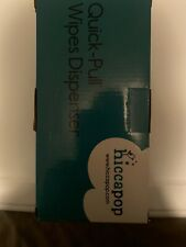 New listing Hiccapop Quick-Pull Wipes Dispenser Tahitian Blue